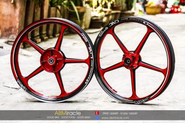 CNC Racing Wheels CANDY ROSSI