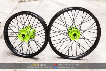 Tricker Wheels Green Neon
