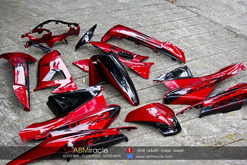 Honda Wave Alpha RACING RED