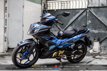 Yamaha Exciter 150 BLUE STONE ADRENALINE