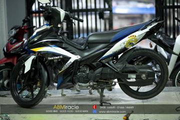 Yamaha Exciter 135 REAL MADRID
