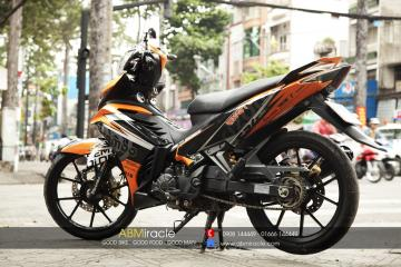 Yamaha Exciter 135 ORANGE RACING