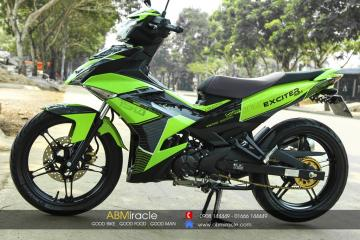 Yamaha Exciter 150 GREEN RACING