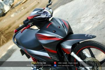 Honda Wave DARK RED
