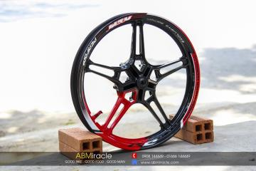 Yamaha Exciter 150 RC Wheels RED DEVIL