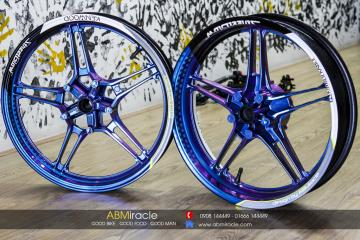 Yamaha Exciter 150 Wheels STREETGLOW