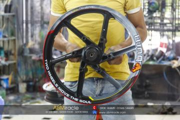 Wheels NSR BURNING