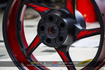 Wheels Yamaha R1 CANDY RED