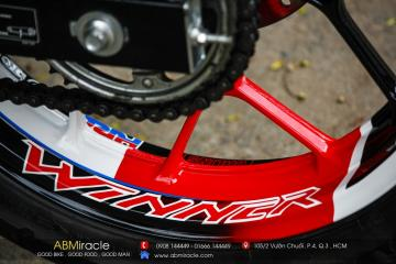 Honda Winner 150 Wheels HRC EDITION