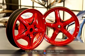Yamaha BWS Wheels RED ALERT