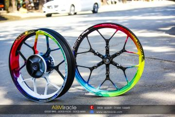 Honda Winner 150 Wheels RAINBOW