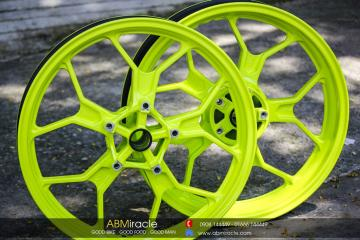 R3 Wheels GREEN NEOn