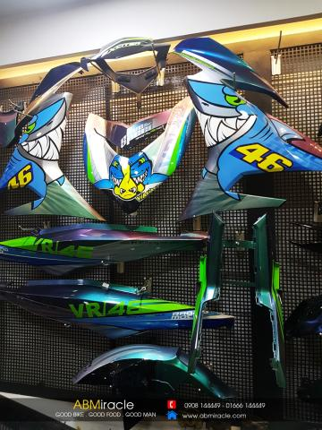 Yamaha Exciter 150 VR 46 VIA VIA VIA