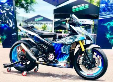Yamaha Exciter 150 BLUE DRAGON CHAMPION Edition