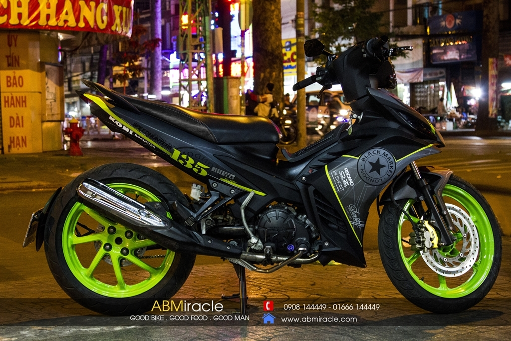 Yamaha Exciter 135 BLACK MARKET