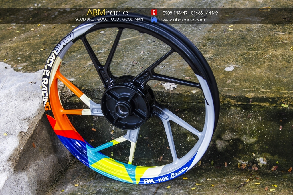 Suzuki Raider Wheels ROSSI CHAMPION