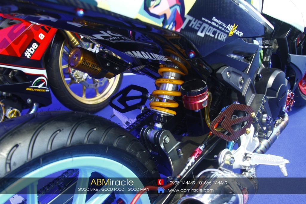 Yamaha Exciter 150 VR 46 STYLE