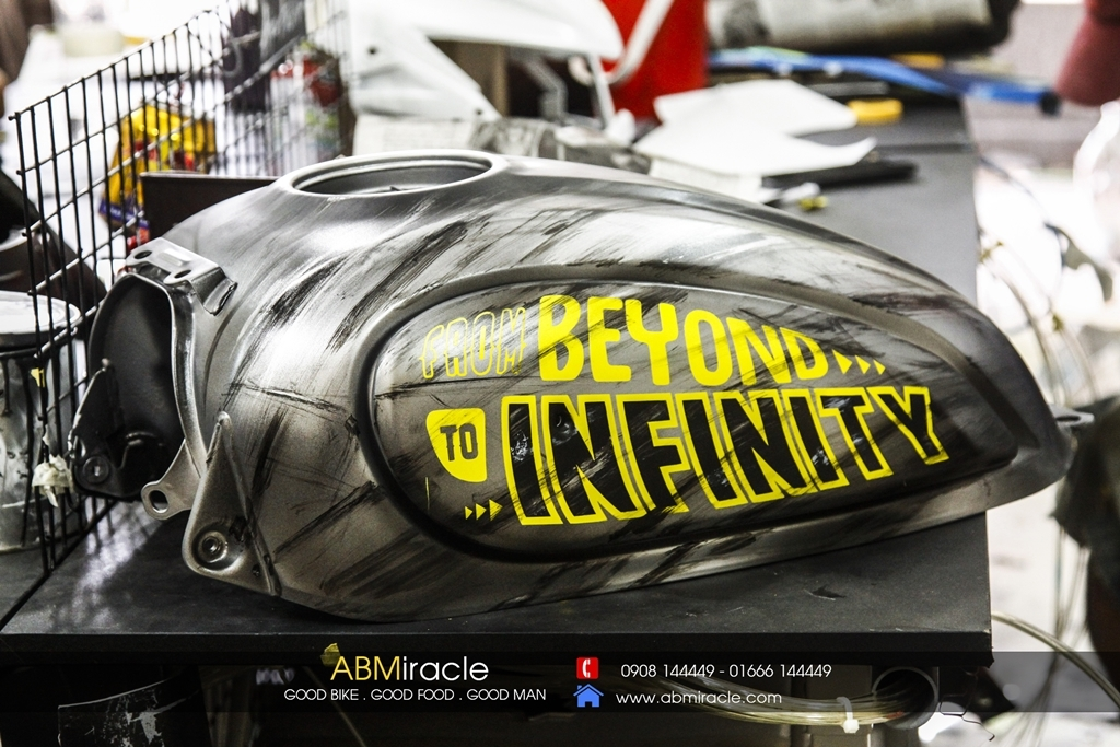 Ducati Scrambler Gas Tank FROM BEYOND TO INFINITY