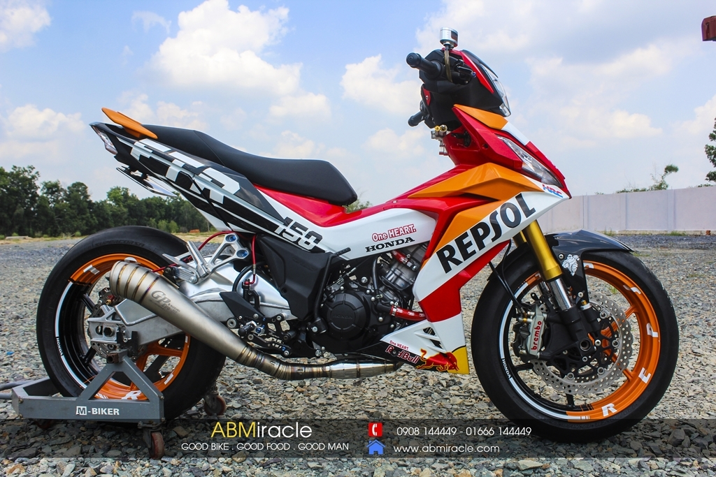 Honda Winner 150 REPSOL LIMITED EDITION