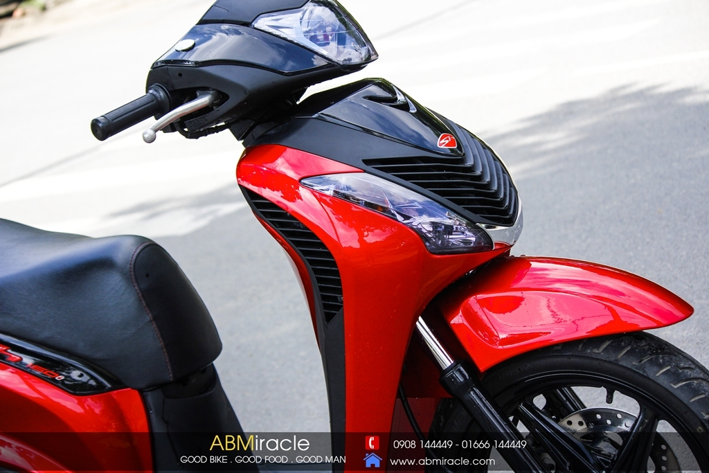 Honda SH 150i CANDY RED Ver 2