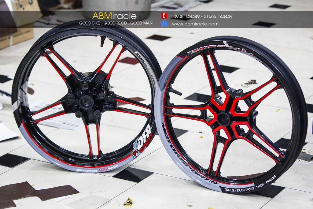 Yamaha Exciter 150 Wheels PITPOSSE Ver 2