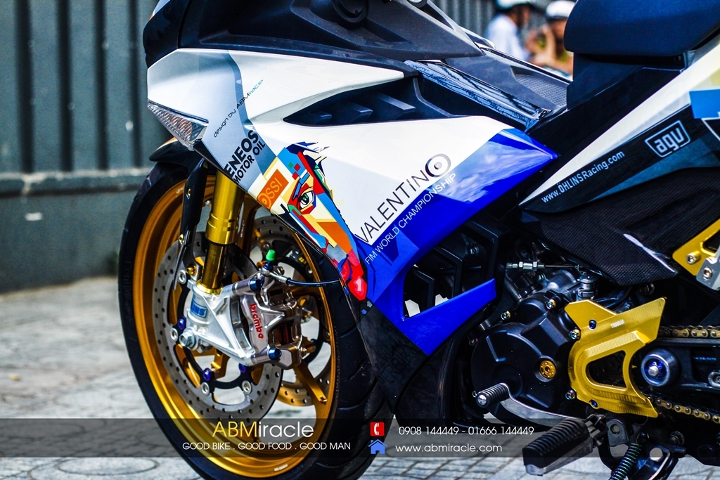Yamaha Exciter 150 ROSSI EDITION
