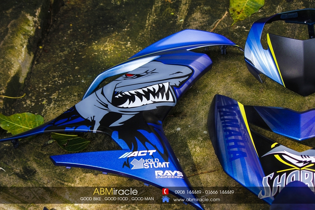Yamaha Exciter 150 SHARKS PLANET